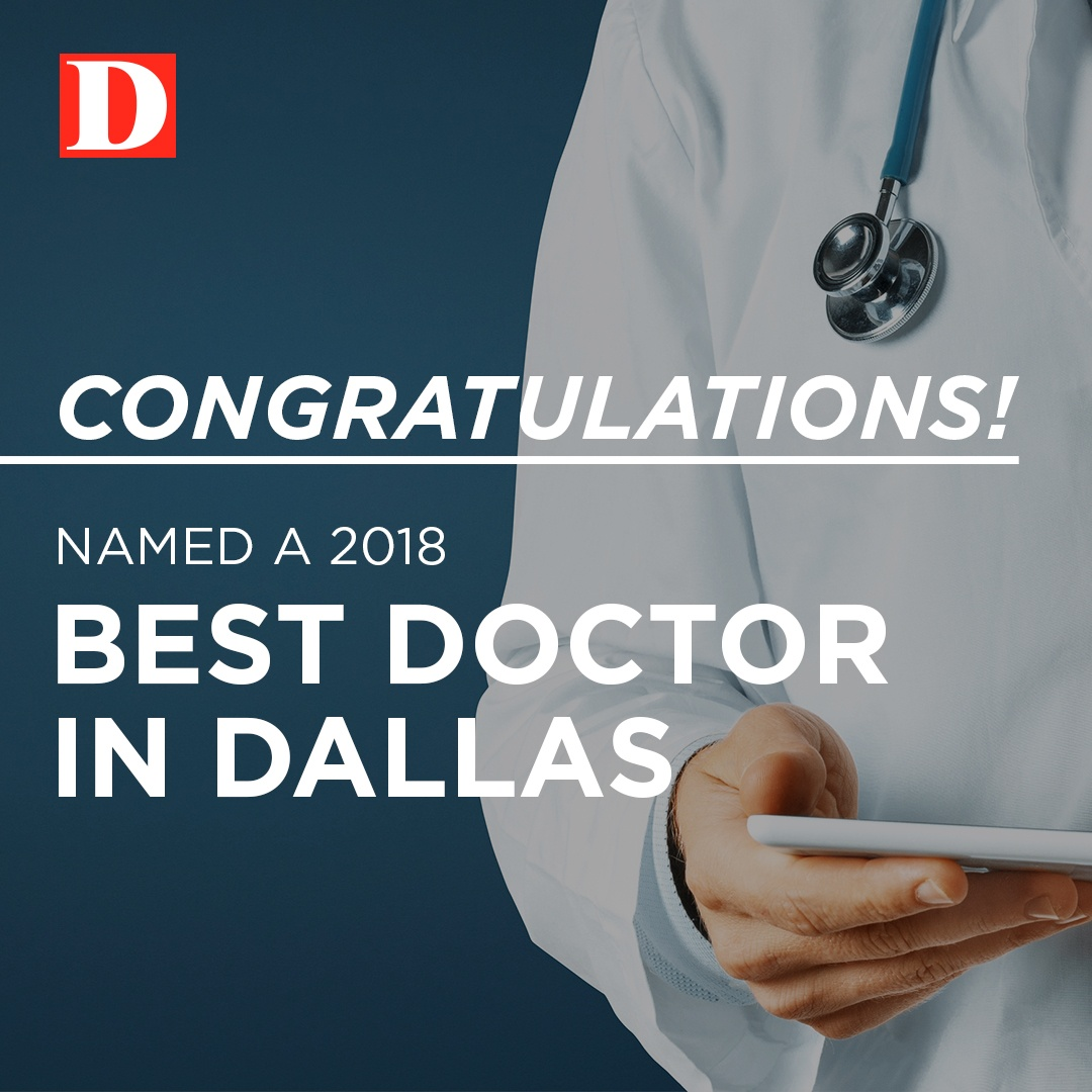 D Magazine Best Doctors 2018